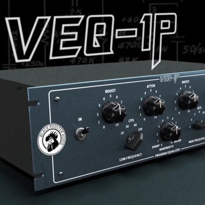 Black Rooster Audio // VEQ-1P Program EQ Introduction