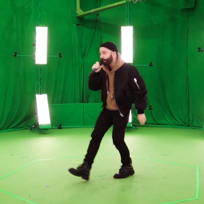 Making-of 4D Woodkid Performance | ZDF Magazin Royale